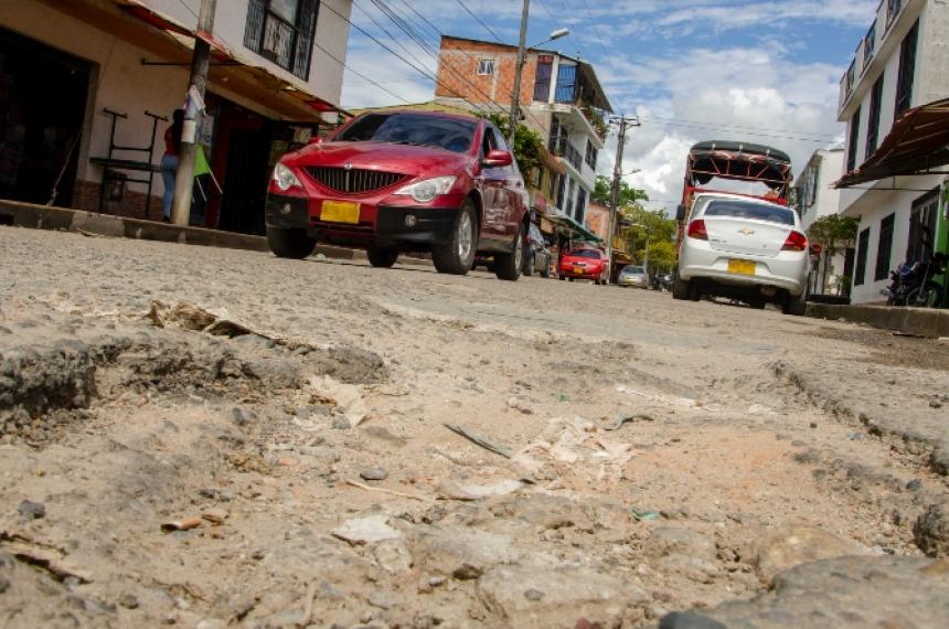 Las Américas: otro barrio de Ibagué con graves problemas en su malla vial