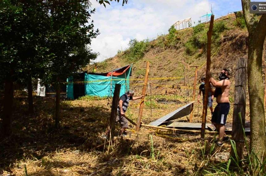 Ante la falta de autoridad en Ibagué, la comunidad decidió recuperar por su propia cuenta el cerro 'La Mulita'