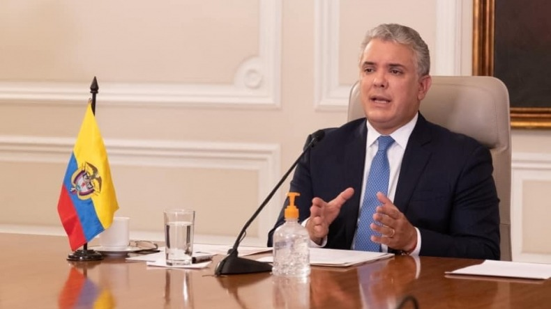 Presidente Duque está dispuesto a sustituir ponencia de la reforma tributaria