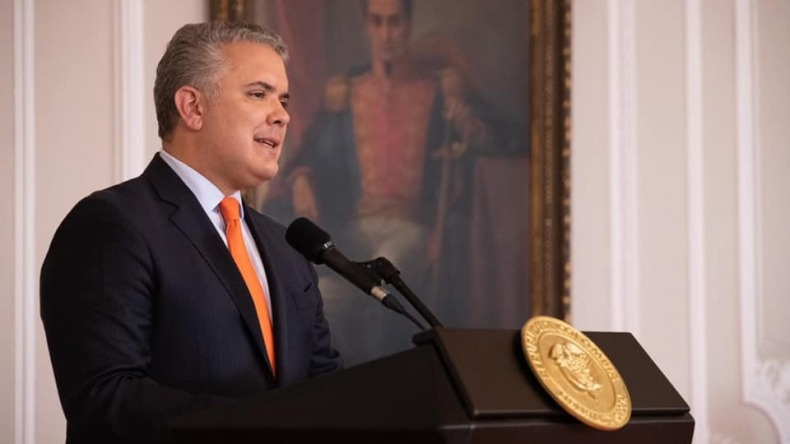 """""""Los bloqueos son una violación a los derechos humanos"""": Presidente Duque"""