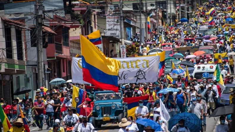 Cerca de 3.000 personas asistieron a movilización en Cajamarca