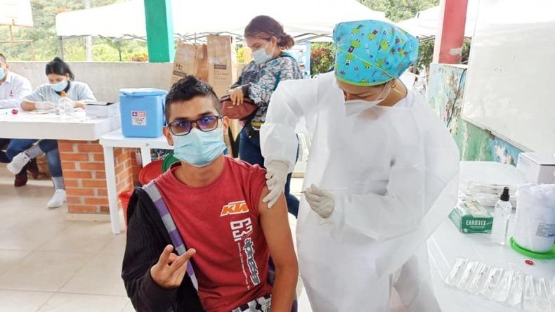 Este miércoles habrá vacunación contra el COVID-19 para mayores de 15 años en Ibagué