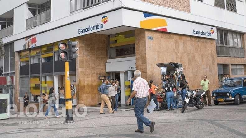 Bancolombia anunció que no habrá servicio este lunes en dos sucursales de Ibagué