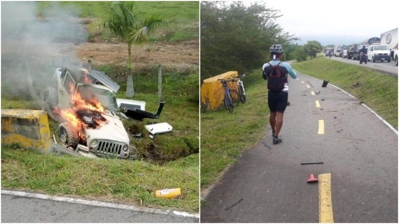 Conductor se declaró culpable del homicidio de dos ciclistas en abril de 2019 en Ibagué