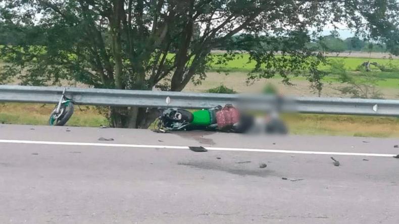 Una persona fallecida dejó fuerte accidente en la vía El Espinal - Guamo