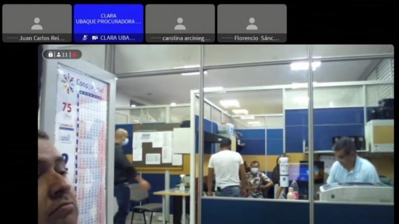 Impiden el acceso a información en la audiencia de imputación de cargos contra el policía capturado por el asesinato de Santiago Murillo