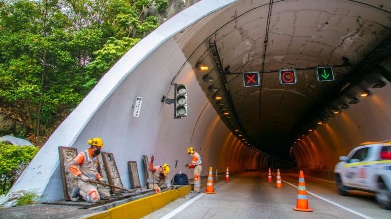 Cerrarán el túnel Sumapaz, en la vía Melgar–Bogotá, en horarios nocturnos