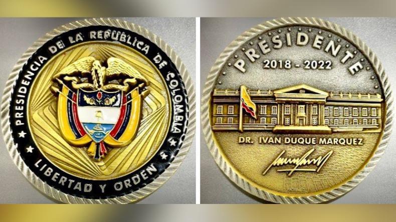 Polémica por monedas 'de oro' con el nombre del presidente Duque que costarían en total $42 millones