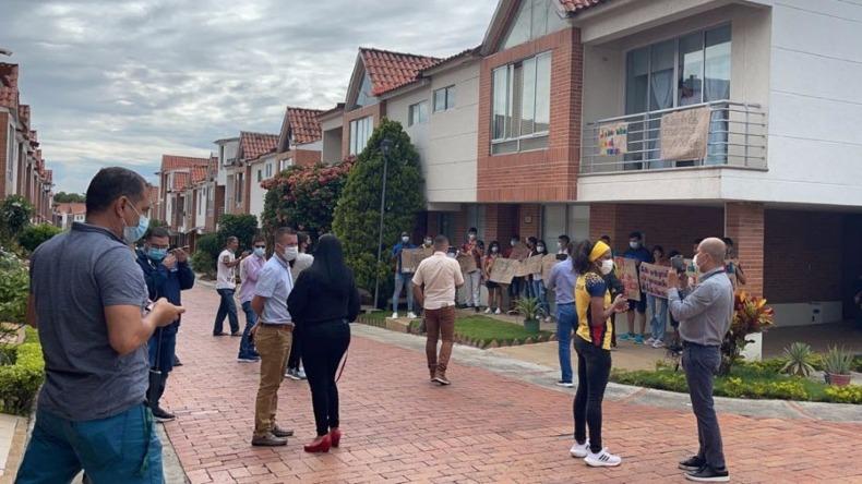 Se aplazó el desalojo de la deportista Ingrit Valencia: tendrá ocho días para entregar la vivienda de La Florida 1