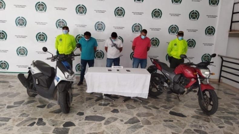 Cárcel a tres presuntos ladrones dedicados al hurto de residencias en Ibagué