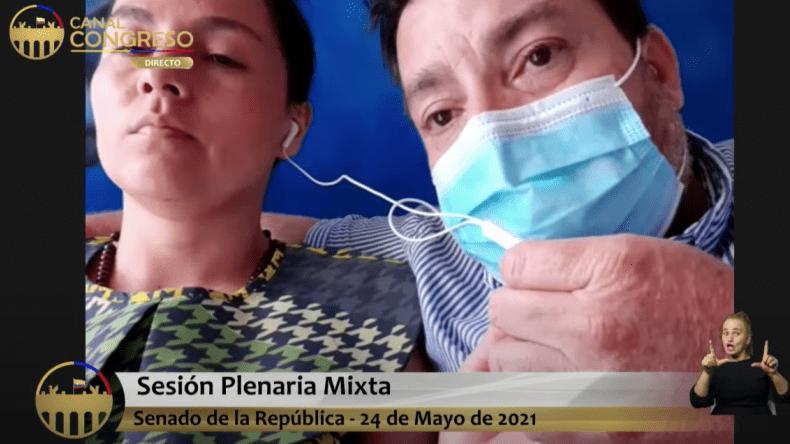 """""""No es justo queun oficial le haya puesto la pena de muerte a mi hijo"""": mamá de Santiago Murillo"""
