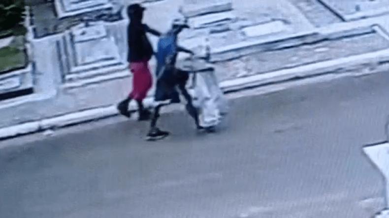 ¡El colmo! se robaron un cristo de bronce en el cementerio San Bonifacio de Ibagué