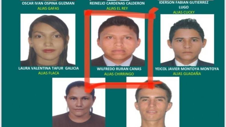 Capturaron a uno de los presuntos criminales más buscados del Tolima