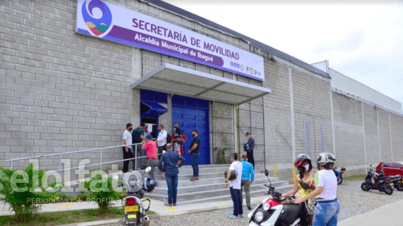 Habilitan nuevo punto de recaudo para impuesto de vehículos en la Secretaría de Movilidad de Ibagué