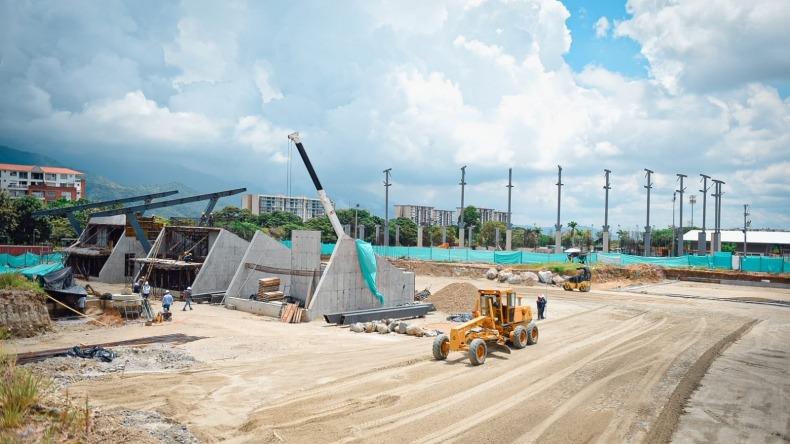 Denuncian mala ejecución de obras en el Coliseo Mayor y complejo de raquetas de Ibagué