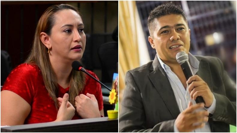 Linda Perdomo descalifica al concejal César Franco e insinúa que tiene problemas mentales
