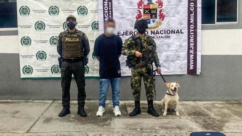 Hombre fue capturado con 4.5 kilos de marihuana en Cajamarca