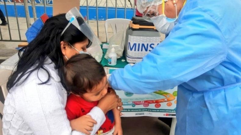 Cerca de 2 mil niños han sido vacunados contra sarampión y rubéola en Ibagué