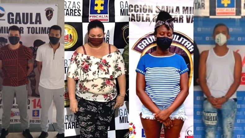 Capturan a presuntos disidentes de las Farc por extorsión desde la cárcel de Ibagué