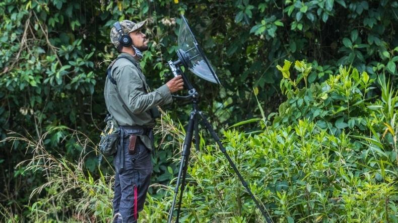 Hernán Arias: uno de los fotógrafos que más especies de aves ha registrado en Colombia