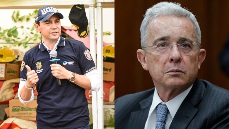 """""""Presidente usted bien sabe lo difícil que es combatir el terrorismo"""": Hurtado a Uribe"""