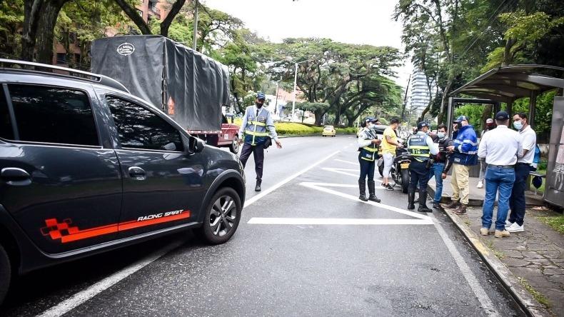 Más de 10 vehículos han sido inmovilizados durante el Día sin carro en Ibagué
