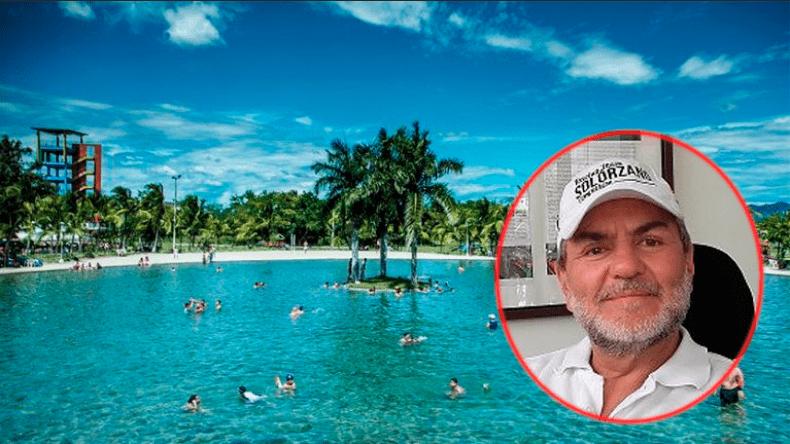 Corbanca exige a Juan Raúl Solórzano devolver el centro vacacional Playa Hawái, ante el incumplimiento de los pagos