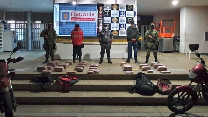 Judicializaron a dos hombres por tráfico de estupefacientes: uno quedó en libertad