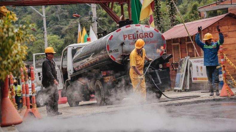 Pavimentación de la vía Ibagué-Juntas será entregada en diciembre: Gobernación del Tolima
