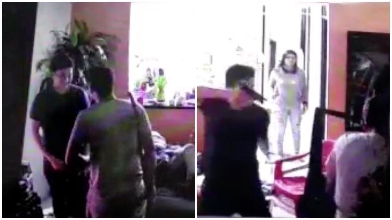 De película: hombre enfrentó a ladrón que pretendía entrar a robar en su casa en Ibagué