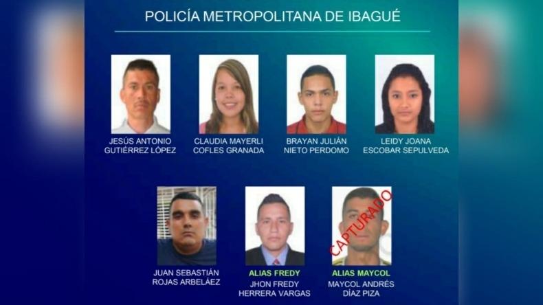 Tenga en cuenta: estos son los más buscados por la Policía Metropolitana de Ibagué
