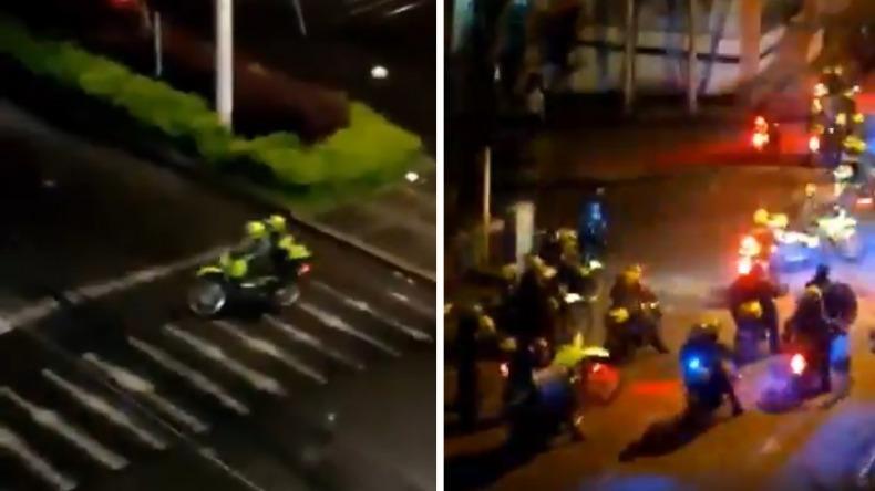 Con videos en redes sociales, denuncian excesos de la Policía en Ibagué