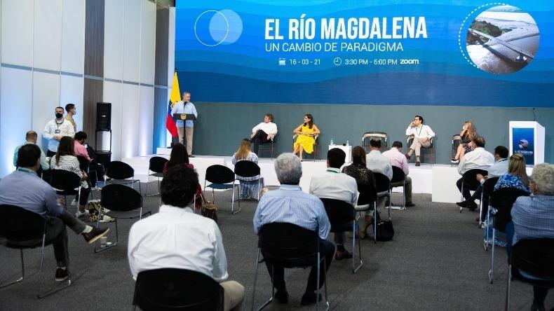 Se comenzará con la recuperación de la navegabilidad del río Magdalena