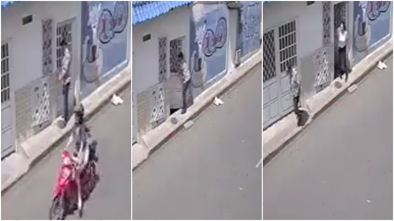Hombre iba a robar una casa en el centro de Ibagué, pero fue sorprendido por los residentes