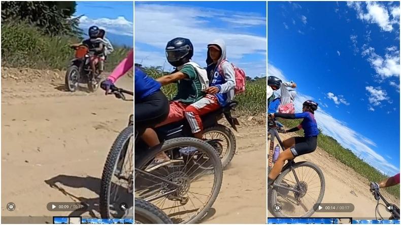 Ladrones en motocicleta robaron a ciclista en la ruta Ibagué - Prado