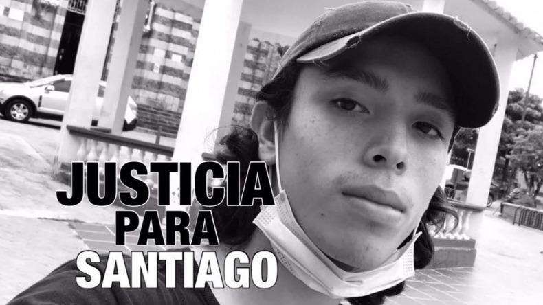 Novia de Santiago Murillo pide justicia y busca testigos para denunciar a la Policía por el asesinato de su pareja