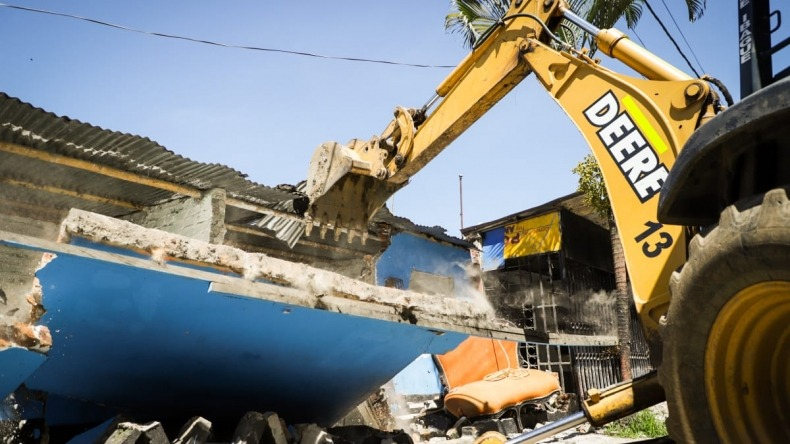 Dos viviendas de expendio de drogas fueron demolidas en Ibagué