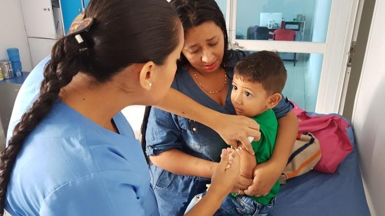 Este fin de semana habrá jornada masiva de vacunación contra el sarampión y rubéola en Ibagué