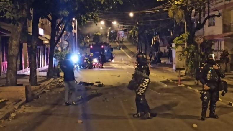 Personería de Ibagué le pide a la Policía que use su fuerza de forma racional