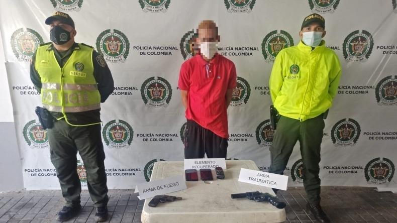 Venezolano fue capturado en Ibagué