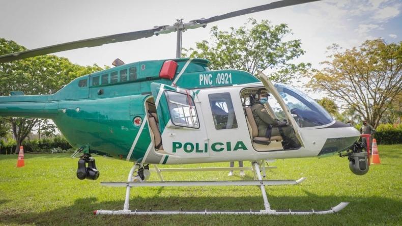 Autoridades realizaron 12 allanamientos este martes usando helicóptero de la Policía Nacional