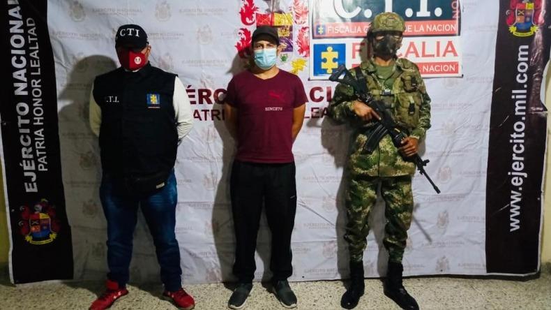 Capturan a integrante de 'Los Tijeras', banda señalada de ordenar homicidios en Mariquita