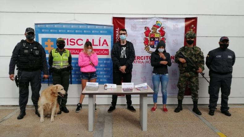 Capturan a cuatro personas por traficar drogas sintéticas en Skate Park, bares y eventos en Ibagué