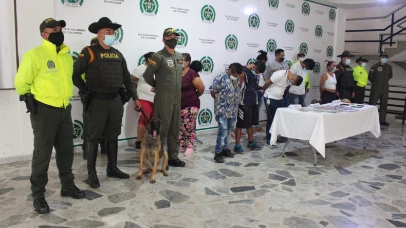"""Capturadas 11 personas que integraban la banda delincuencial """"Los mamba negra"""""""