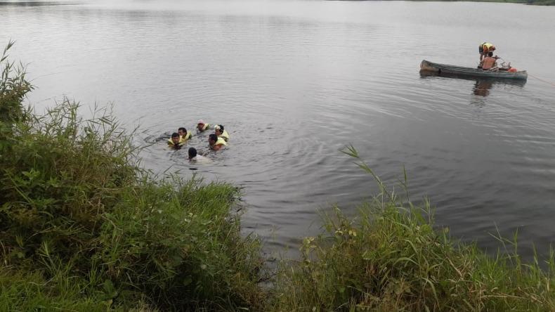 Encuentran cuerpo de un joven que se ahogó en la Laguna El Escobal de Ibagué