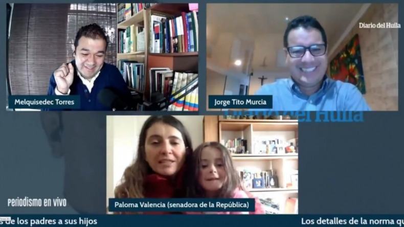"""Rechazan ataques a Paloma Valencia por comentario de su hija en entrevista sobre la ley """"antichancleta"""""""