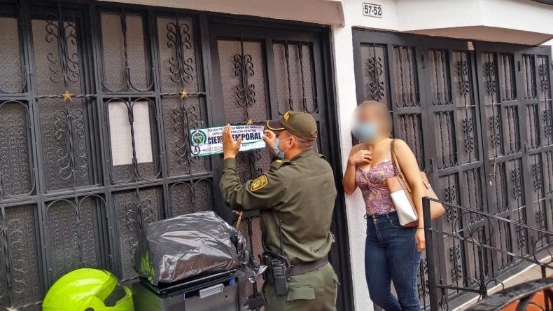 Dos videochats eróticos fueron cerrados por las autoridades en Ibagué