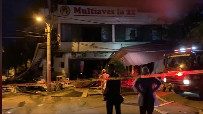 Grave explosión deja cinco heridos en Purificación