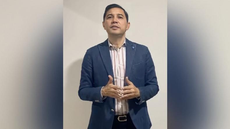 """""""Que se haga justicia, es lo que necesitamos"""": Alcalde Hurtado sobre la muerte de Santiago Murillo"""