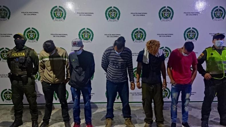 Capturan a cinco personas y aprehenden a tres por hechos vandálicos en Ibagué